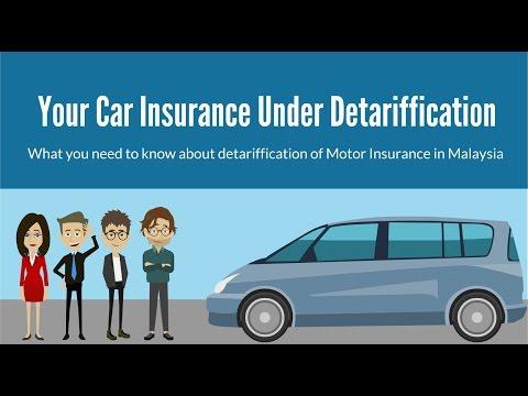 Detariffication of Motor Insurance in Malaysia 1 July 2017