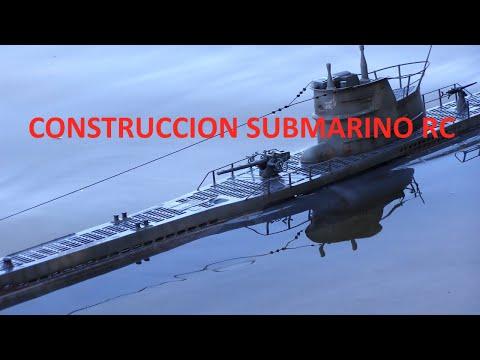 RC Submarine Uboat U47 Robbe, submarino
