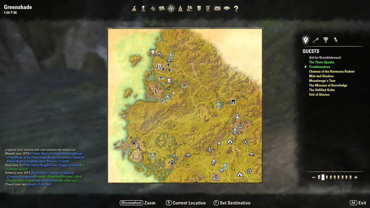 elder scrolls online treasure maps with Watch on Coldharbour together with ESO  Bleakrock Treasure Map II in addition ESO  Glenumbra Treasure Map II moreover Betnikh further 1049.