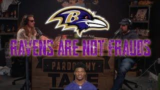 Ravens Beat Seahawks 30-16, OFFICIALLY NOT FRAUDS