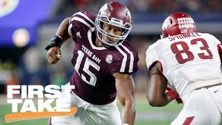 Mel Kiper Jr. Foresees Myles Garrett Being Drafted By Browns | First Take | March 30, 2017
