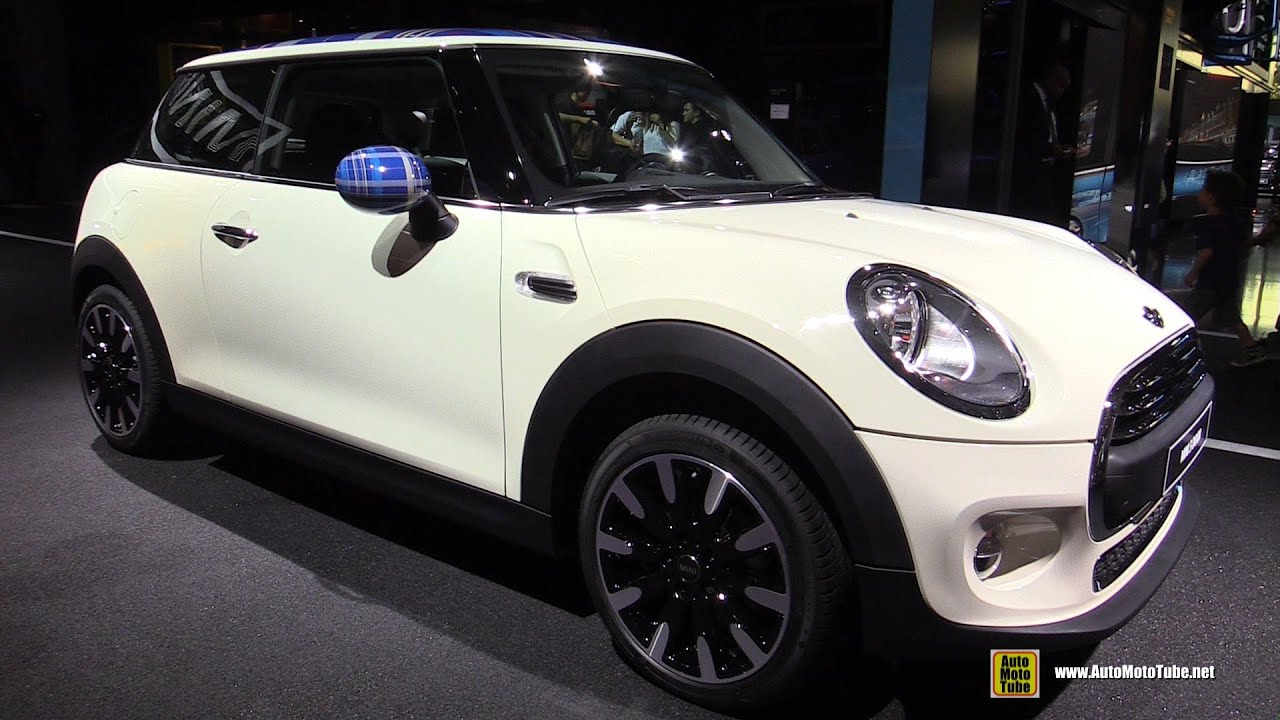 2015 mini cooper one 3 door diesel exterior and interior walkaround 2014 paris auto show. Black Bedroom Furniture Sets. Home Design Ideas