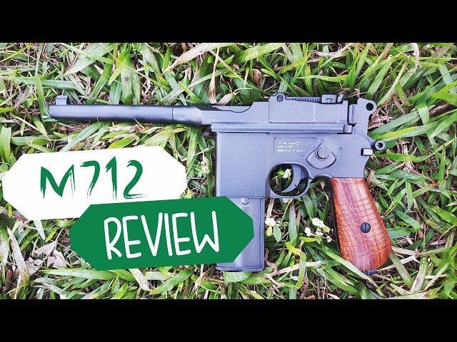 PISTOLA M712 CO2  FULL METAL - AIRSOFTS