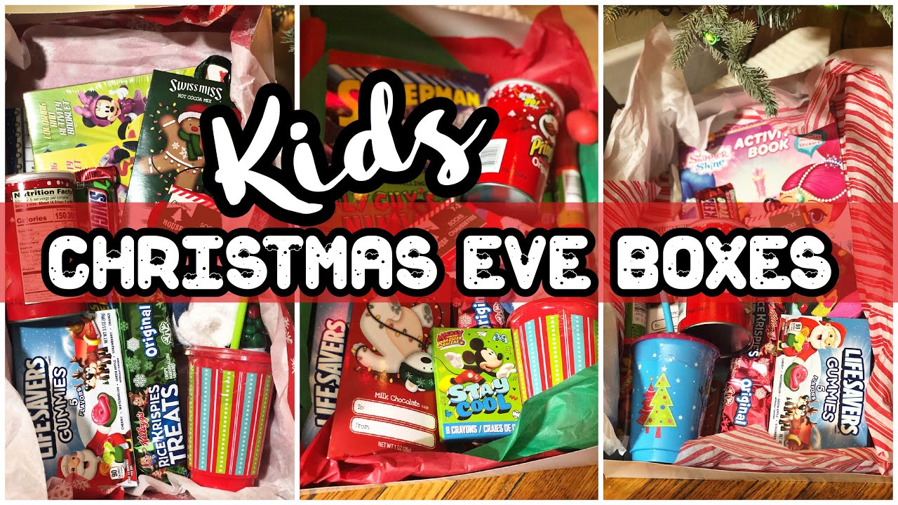 Christmas Eve Box Ideas 2018 Kids Gift Ideas Youtube