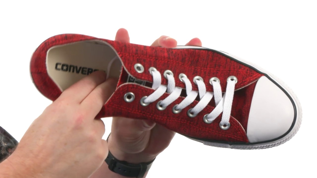 Converse Chuck Taylor® All Star® Heathered Knit Ox SKU 8810595 - YouTube 0606a8d4d4b08