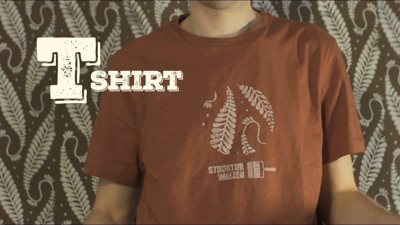 T-Shirt Einfach Selbst Bedrucken // How-To Video Anleitung