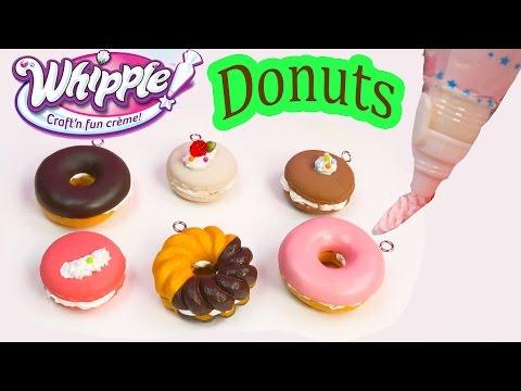 Whipple Craft N Fun Creme Desserts Donuts Macarons Food DIY Craft Toy Unboxing Fun