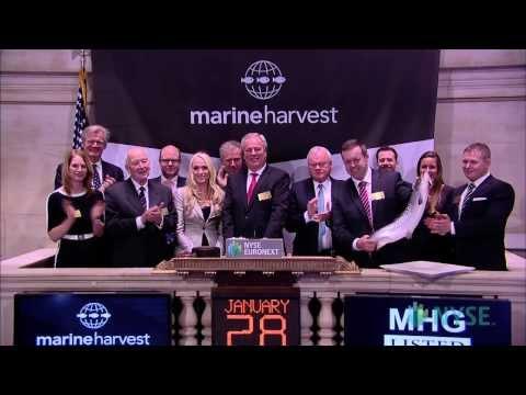 Marine Harvest Celebrates its Listing on the NYSE