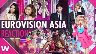 Eurovision Asia: Reaction to the new song contest