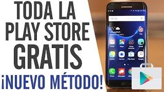 Como Tener Toda La Play Store GRATIS 2016 - Descargar Apps y Juegos de Pago GRATIS - AGOSTO 2016