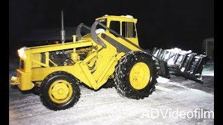 Volvo BM 218 td - Snow clearing - Classic wheel loader -  Sweden - 4K