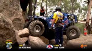 Tuff Truck Challenge 2016 - ALL METAL MAGIC on Rock Garden