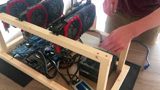 #5 MSI Radeon RX580 Gaming X Plus - Install & Test Mining card