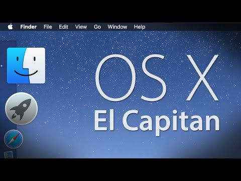 OS X El Capitan Demo (10.11 Final)