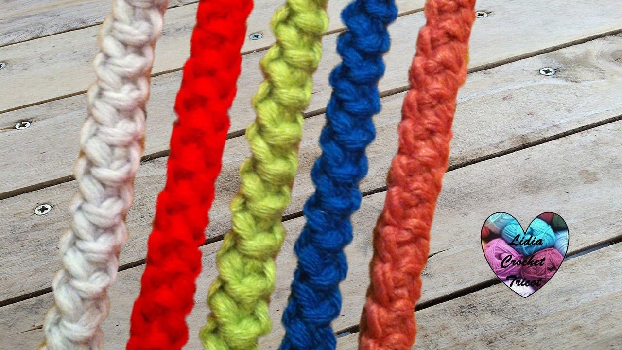 Cordon Roumain Très Facile Crochet / Cordon Rumano Tejido A Crochet