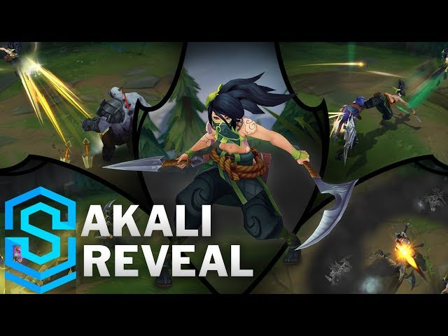 Akali Reveal - The Rogue Assassin | REWORK