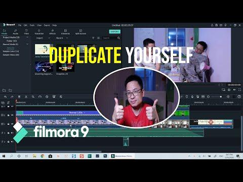 Duplicate Yourself in a Video - Filmora 9 Effects