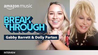 Gabby Barrett Sits Down With Dolly Parton | Amazon Music