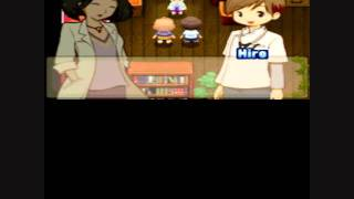 Harvest Moon Tale of Two Towns: Hiro REVERSE proposal and marriage. ENGLISH