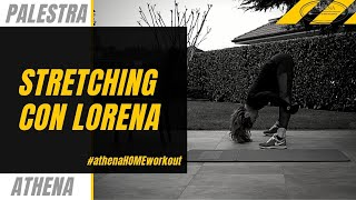 Athena Home Workout Stretching