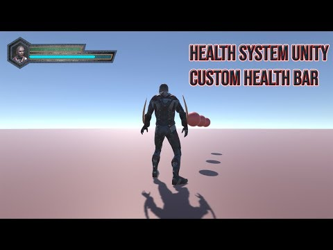 Health System With Health Bar Unity Tutorial | How to create health system in unity for player thumbnail