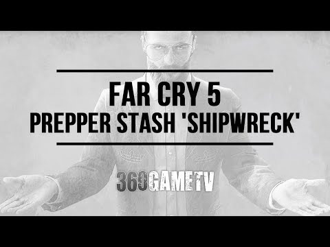 Far Cry 5 Prepper Stash Shipwreck - Faith's Region Prepper Stash Locations and Solutions Guide