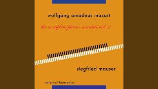 Sonata in C Major K. 330: II. Andante cantabile