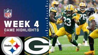 Steelers vs. Packers Week 4 Highlights | NFL 2021