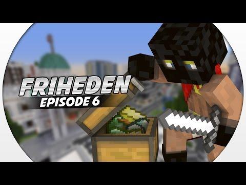 Dansk Minecraft :: Friheden: FORBRYDER MESTERTYVEN! #6