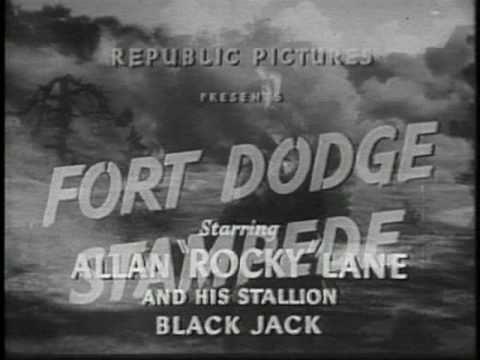 FORT DODGE STAMPEDE 1951 60 Minutes Allan Rocky Lane B WESTERN