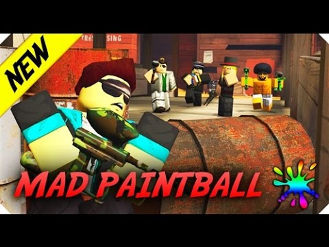 roblox Mad Paintball 2 (v0.04) playing with the sniper ... |Mad Paintball Sniper