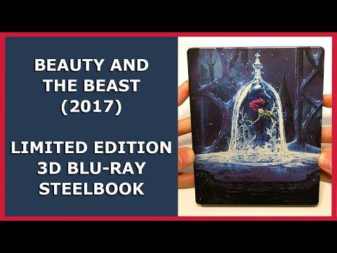 BEAUTY AND THE BEAST - LIMITED 3D BLU-RAY STEELBOOK UNBOXING - DIE SCHÖNE UND DAS BIEST