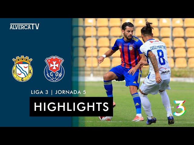 FC Alverca 2-2 Oliveira Hospital | Highlights