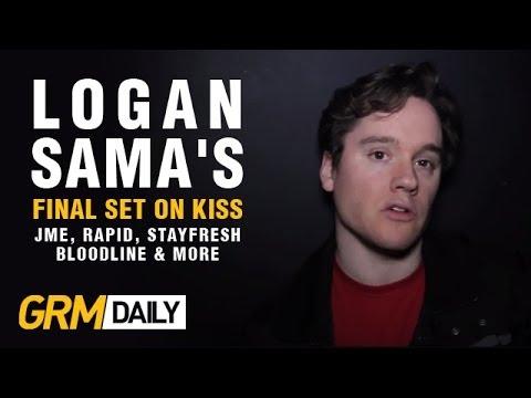 Logan Sama's Final Set On Kiss | Featuring JME, Rapid, StayFresh, Bloodline & More [GRM Daily]