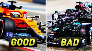 Which Teams Had a Good and Bad First Day of Testing