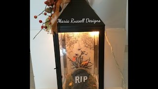 Halloween Project # 2~spooky Halloween Lantern