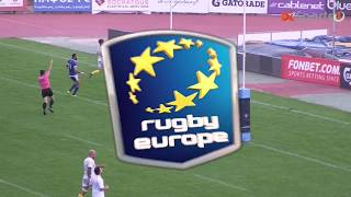 Europe Rugby | Cyprus vs Israel - Highlights