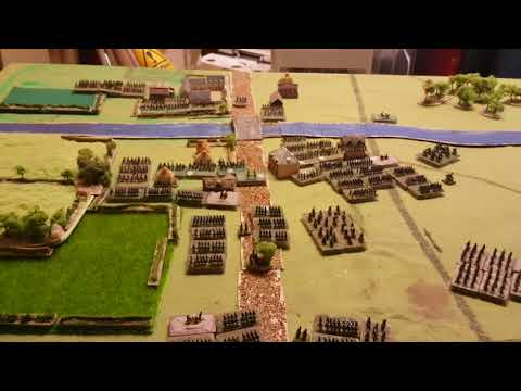 The first large battle of the Napoleonic campaign vlog.