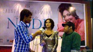 Nushrat Faria & RJ Saimur LIVE@Nodi Album Launching program :: RadioSwadesh