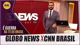 Guerra Da Globo X Cnn Brasil Faz Globo News Dar Mais EspaÇo A Jornalista BonitÃo
