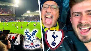 CRYSTAL PALACE vs TOTTENHAM 0-1