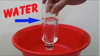 Crazy Magic Trick With Plastic Bottle [ Magic Tutorial #154 ]