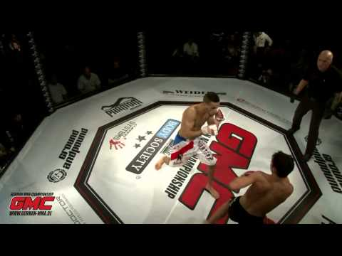 GMC 3 Salah Elkas vs Dimitri Goette 2013 MMA Germany