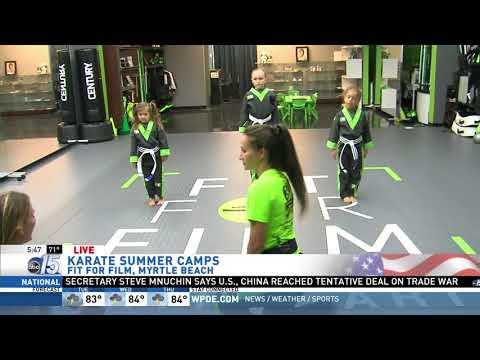 Amanda Live at Fit for Film - Good Morning Carolinas - WPDE ABC 15