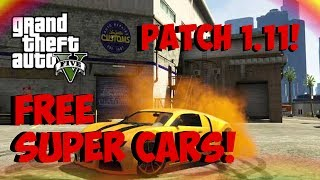 "Gta 5 Online - ""free Super Cars!"" Solo Super Car Insurance Glitch! ""after Patch 1.11!"" (gta 5)"