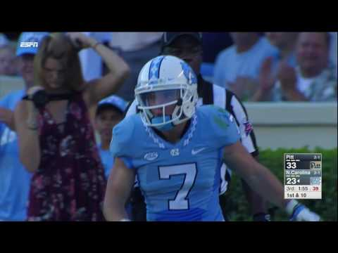 UNC Football: Austin Proehl Makes the Diving Catch vs. Pitt