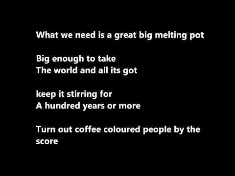 Melting pot-When the cat's away - Karaoke