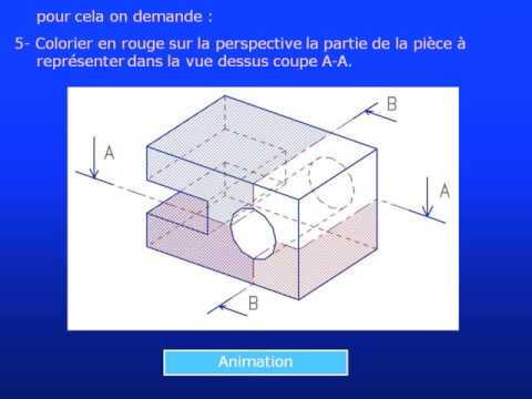 Exercice De Dessin Technique Sciences Techniques Youtube