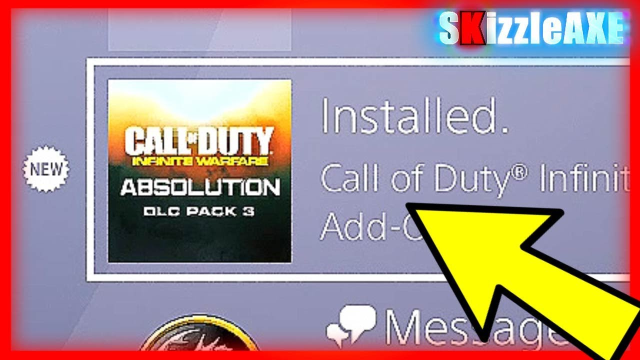 HOW TO DOWNLOAD DLC 3 FOR Infinite Warfare ~ DLC 3 Absolution on PS4 & Will  Work on Xbox (IW DLC 3)