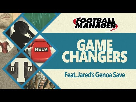 Gamechangers - Managing Jared's save with Genoa (442) Football Manager 2018